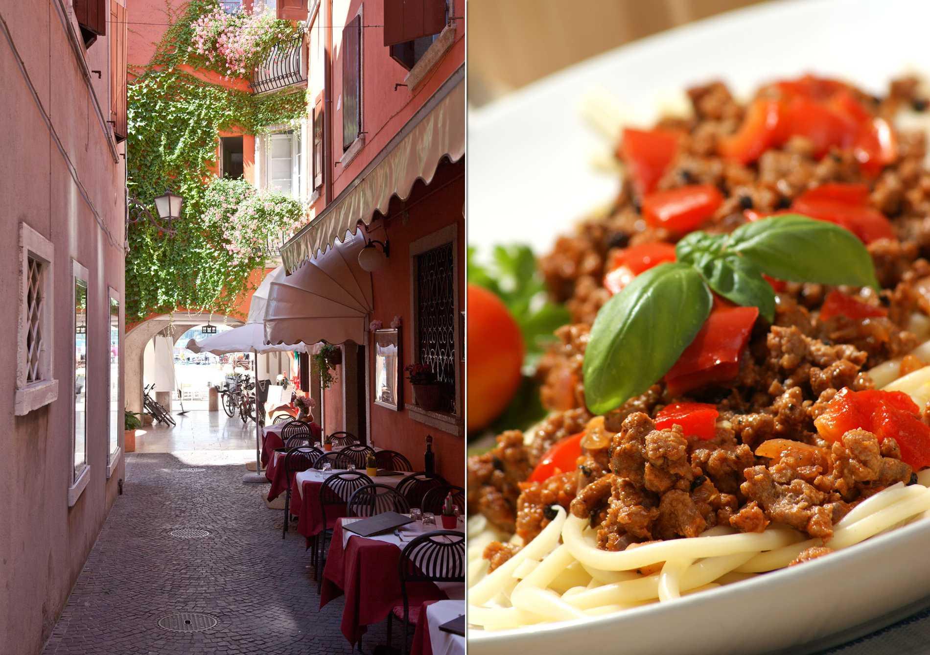 Det italienska köket är svenskarnas favorit.
