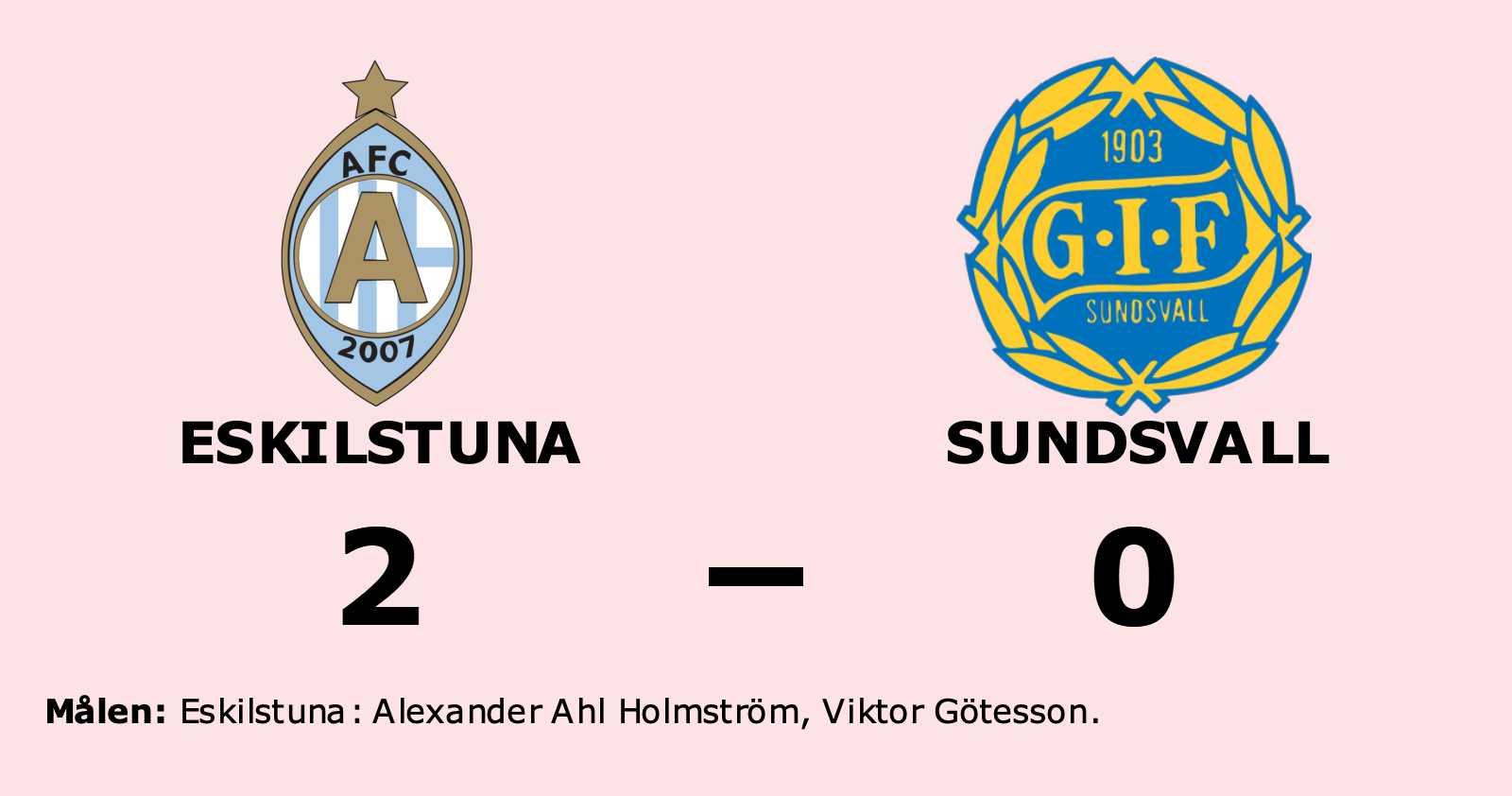 Ahl Holmström och Götesson sänkte Sundsvall