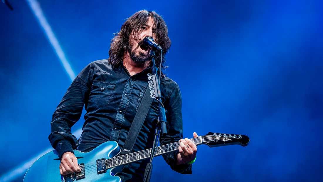 Foo Fighters på Lollapalooza.
