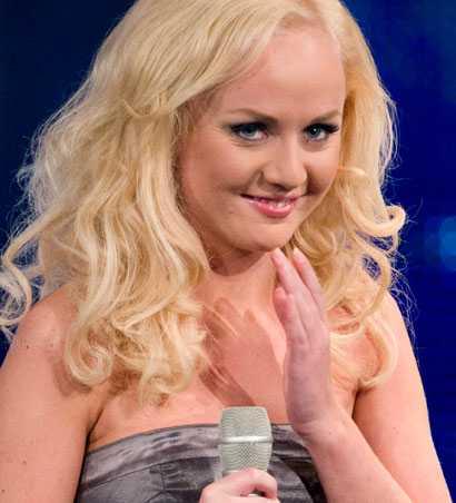 Anna Bergendahl gör debut i Melodifestivalen.