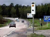 effektiva Fartkamerorna vid landets vägar har fångat många fartsyndare i sommar.