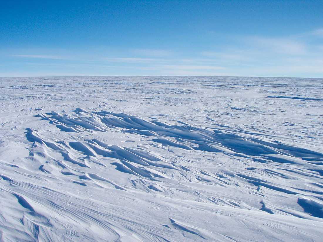 VÄRLDENS KALLASTE PLATS På Antarktis uppmättes rekordlåga 94,7 minusgrader i december 2013.