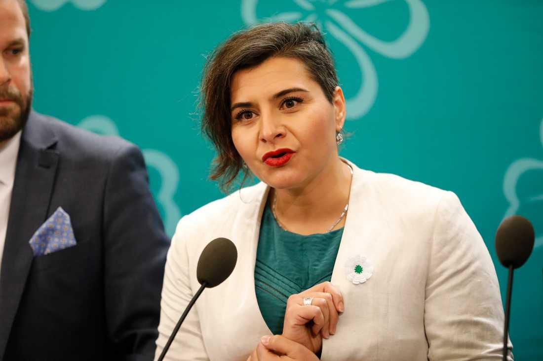 Centerpartiets andranamn Abir al-Sahlani är lika okänd.