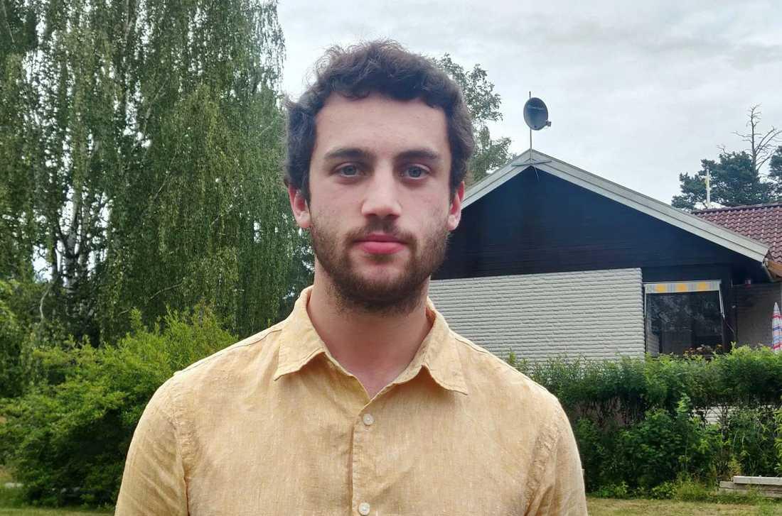 Tobias Sanchez var en av många studenter vars utbytesstudier har ställts in.