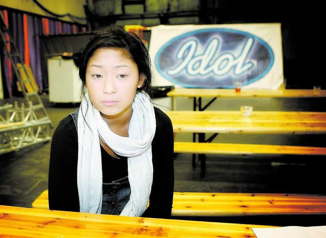 """""""Det är skittråkigt"""", säger """"Idol""""-finalisten Alice Svensson efter att ha sett nätuppslagsverket Wikipedias felaktiga uppgifter."""