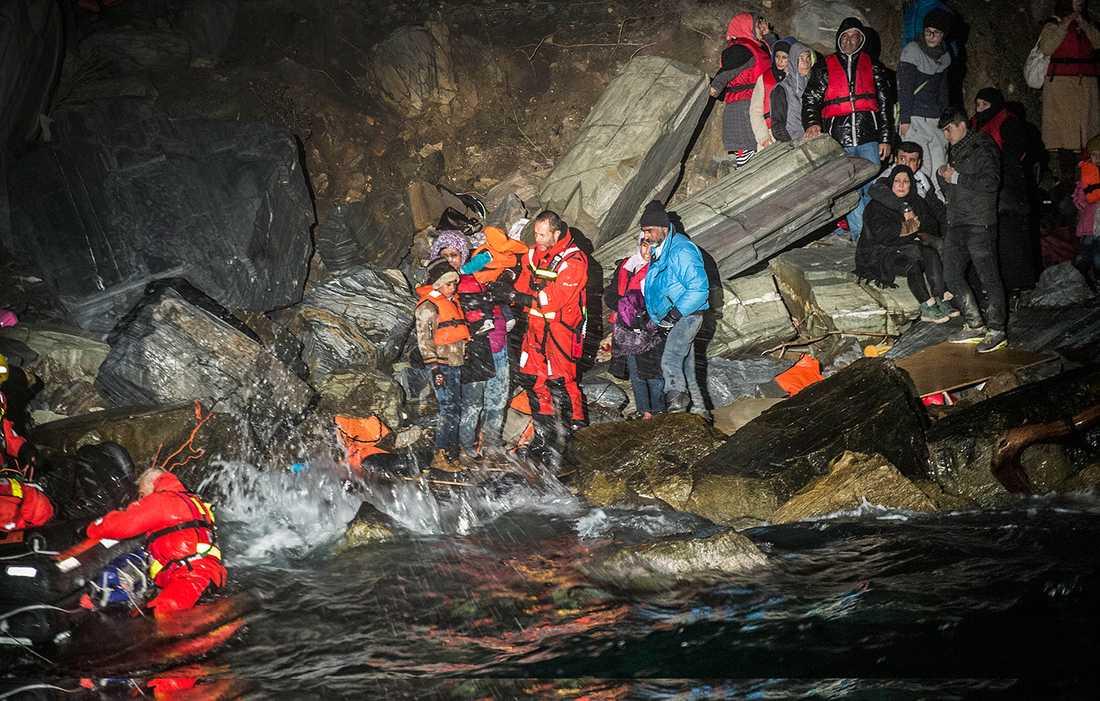 37 människor räddades den 9 november.
