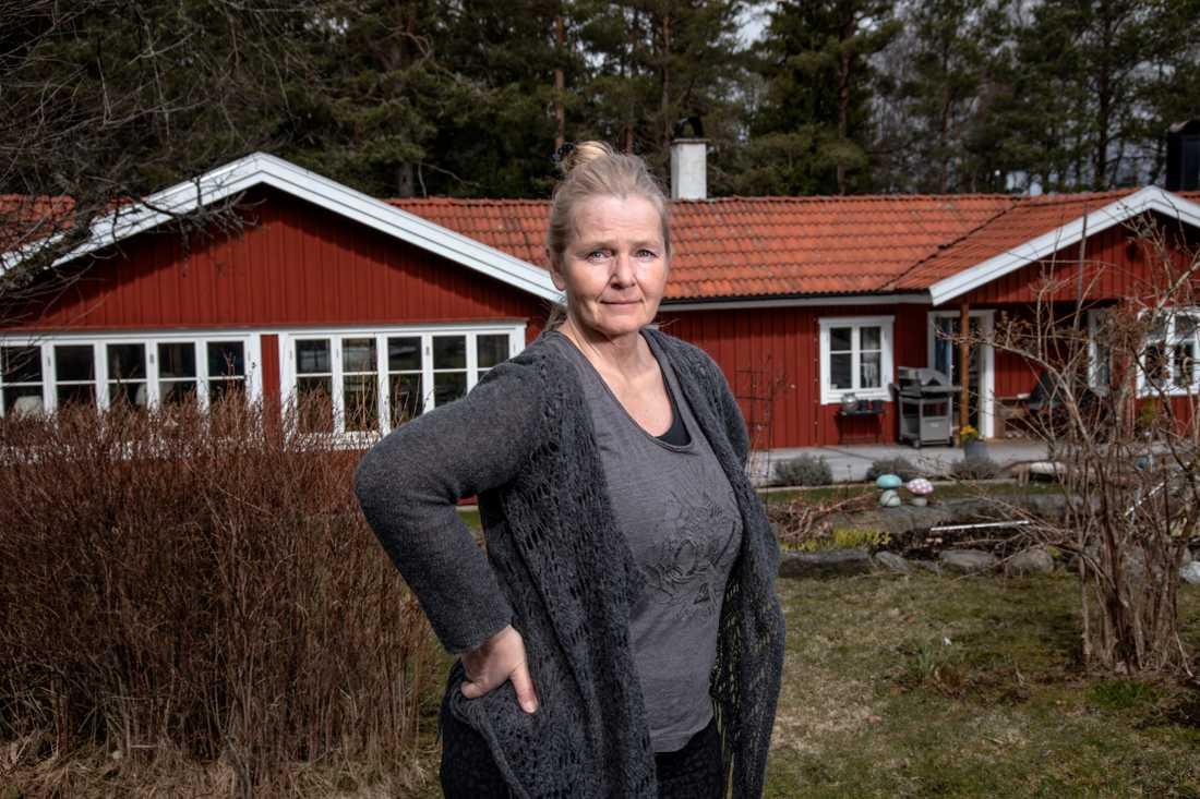 """""""Det är inget snack om att det är diskriminering av folk över 50"""", säger Eva Olsson."""