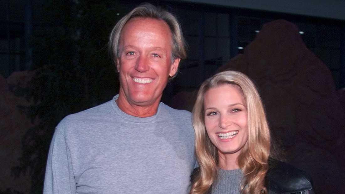 Peter Fonda med dottern Bridget Fonda 1999.