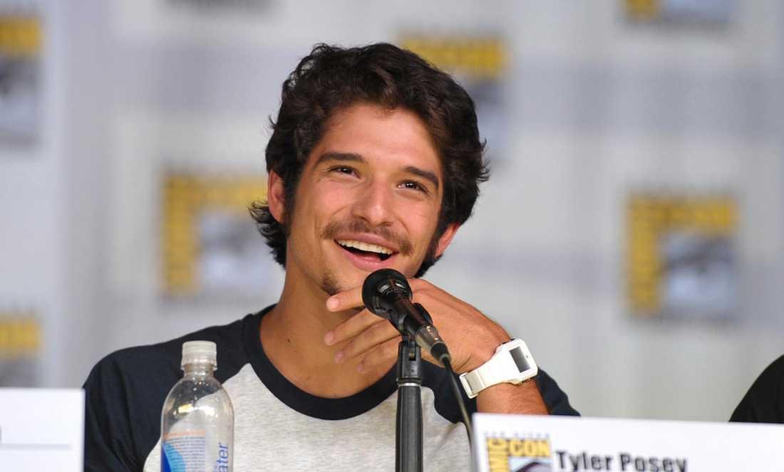 """Tyler Posey, känd från """"Teen Wolf"""", på Comic Con i San Diego."""