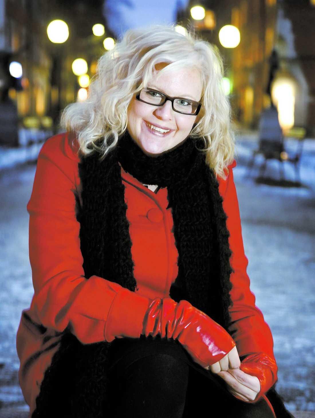"""""""FILMEN KÄNNS ÄKTA"""" Johanna Thydell är nöjd med filmen som bygger på hennes bok. """"Jag tycker att den berör och känns äkta. Jag gillar att den är både rolig och sorglig"""", säger hon."""