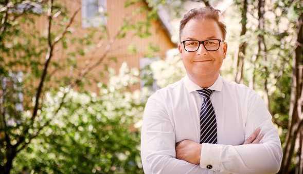 Fredrik Kullman, vd på Bjurfors Stockholm