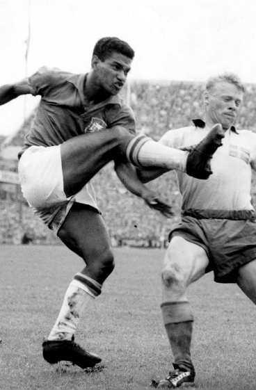 Garrincha - världsmästare i Sverige 1958...