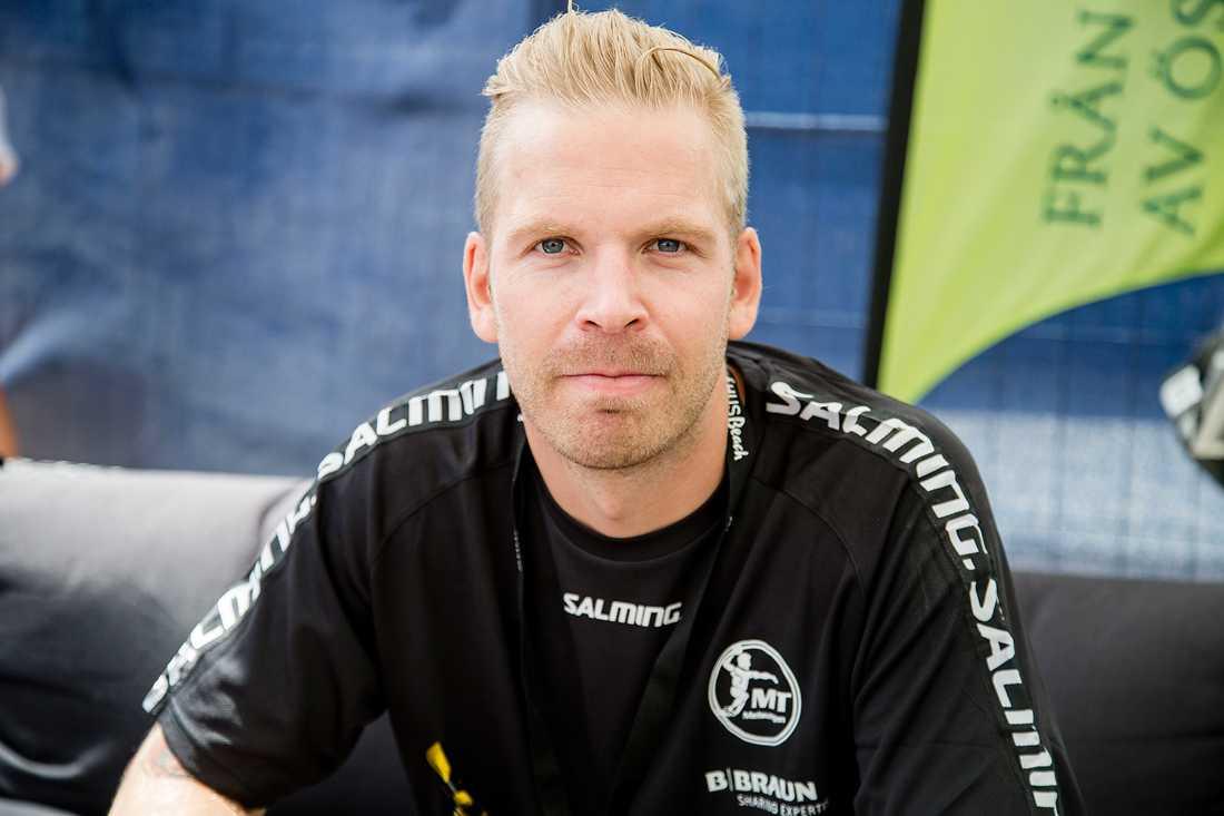 Johan Sjöstrands satte sju rätt på sitt andelssystem på V75 under lördagen.