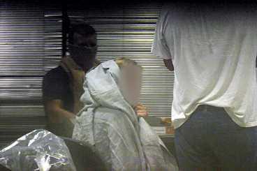 kokainLIGA En 26-årig serb och hans resesällskap greps på flygplatsen Cumbica med 11 kilo kokain på sig. Han avslöjade sedan var resten av ligan befann sig.