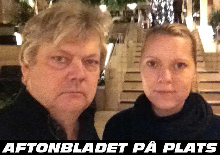 Aftonbladets Urban Andersson och Carina Bergfeldt är på plats i Norge.