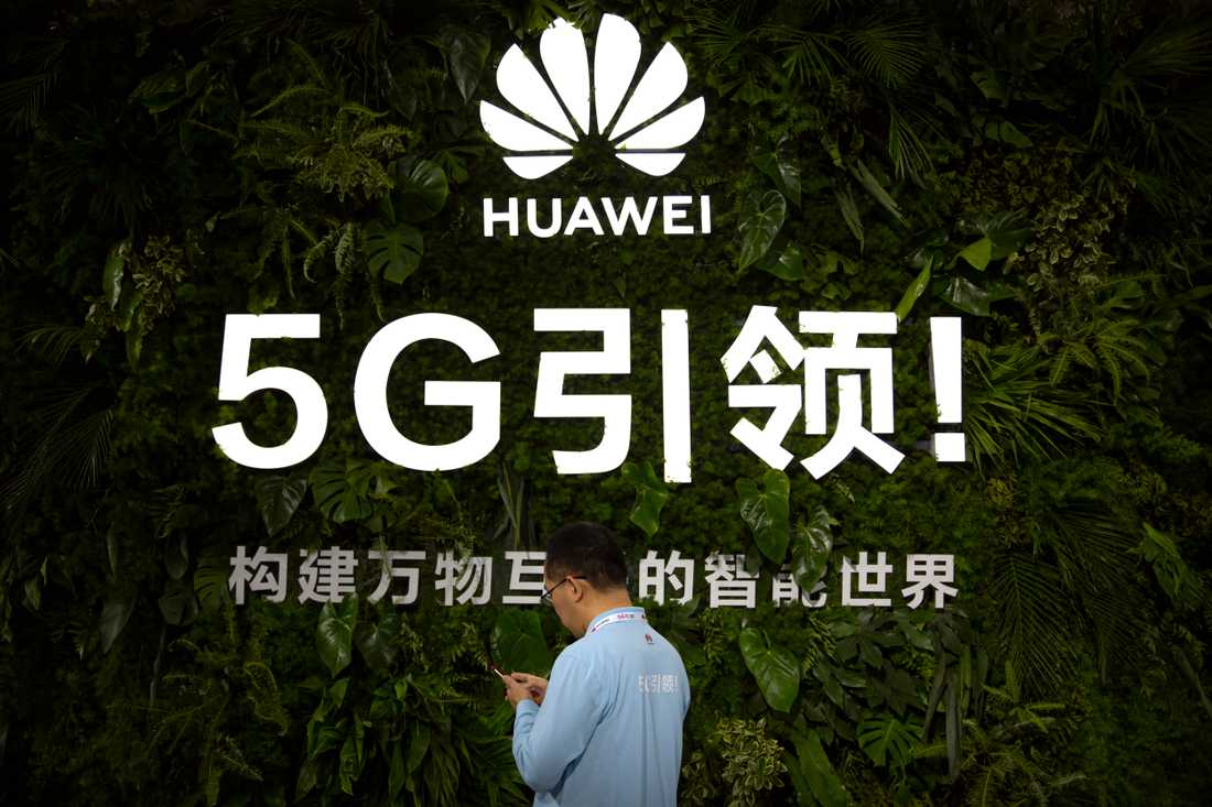 Kinesiska Huaweis intåg i kampen om 5G har gjort frågan till internationell storpolitik. Arkivbild.