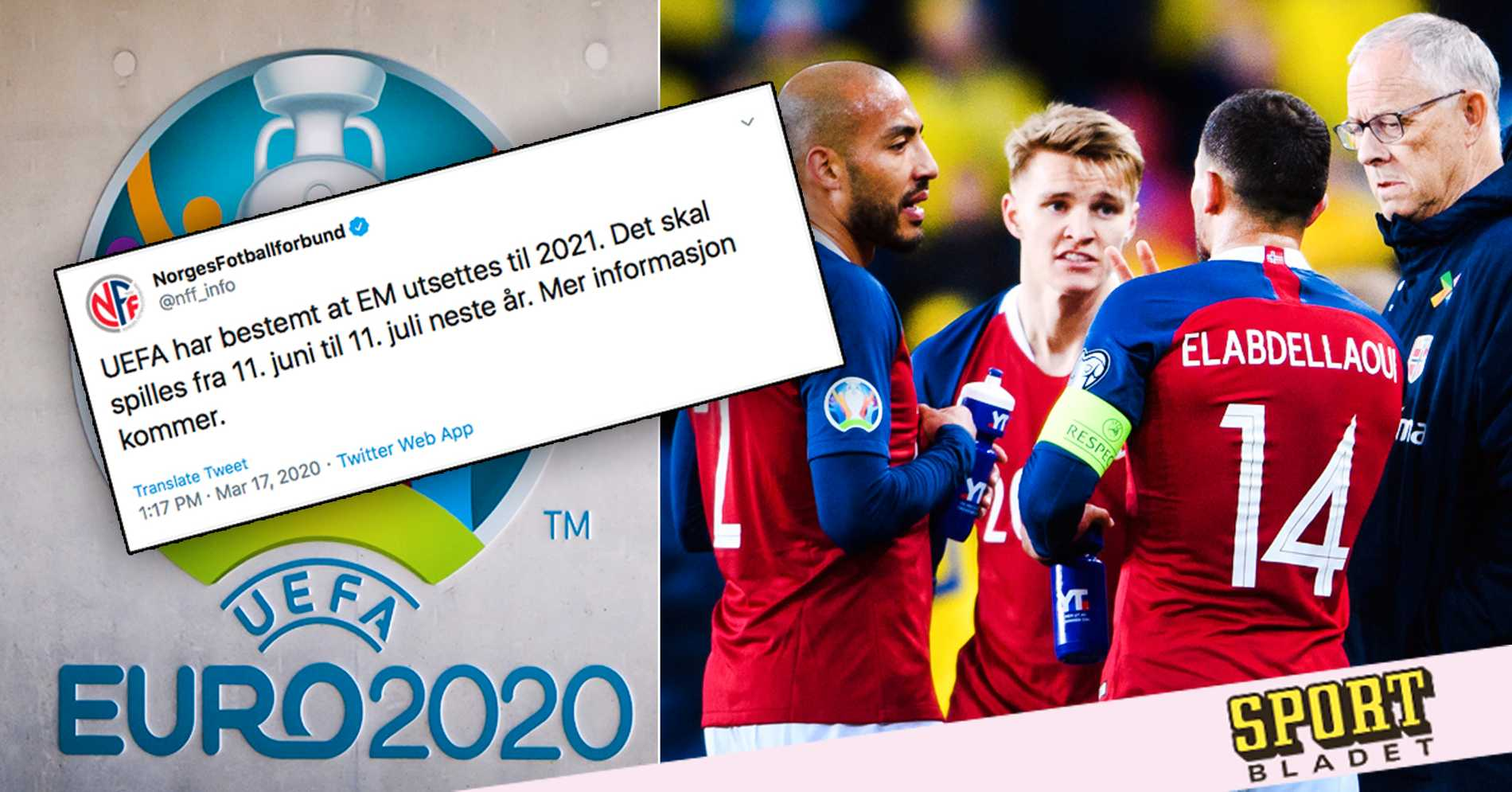 """Norges fotbollförbund: """"Fick höra att det var ok"""""""