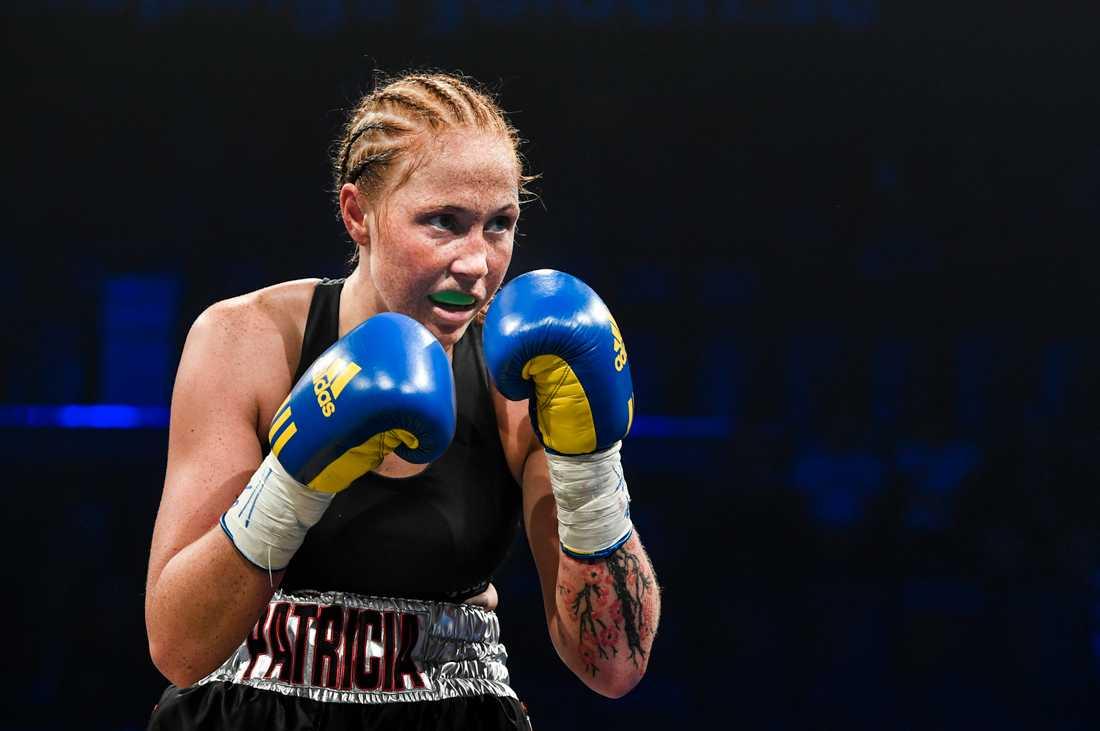 Patricia Berghult befann sig i arenan där bulgariske boxaren Isus Velichkov dog.