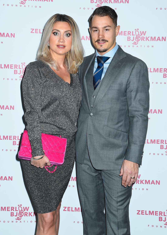 Camilla Läckberg och Simon Sköld