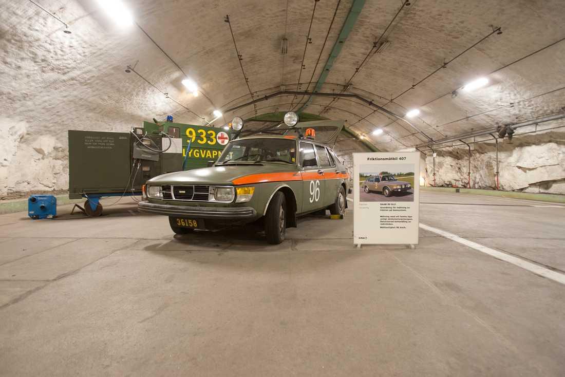 Om Stig Bergling fått tag i ritningarna till den här hade maktbalansen under kalla kriget rubbats i grunden. Den femhjuliga Saaben.