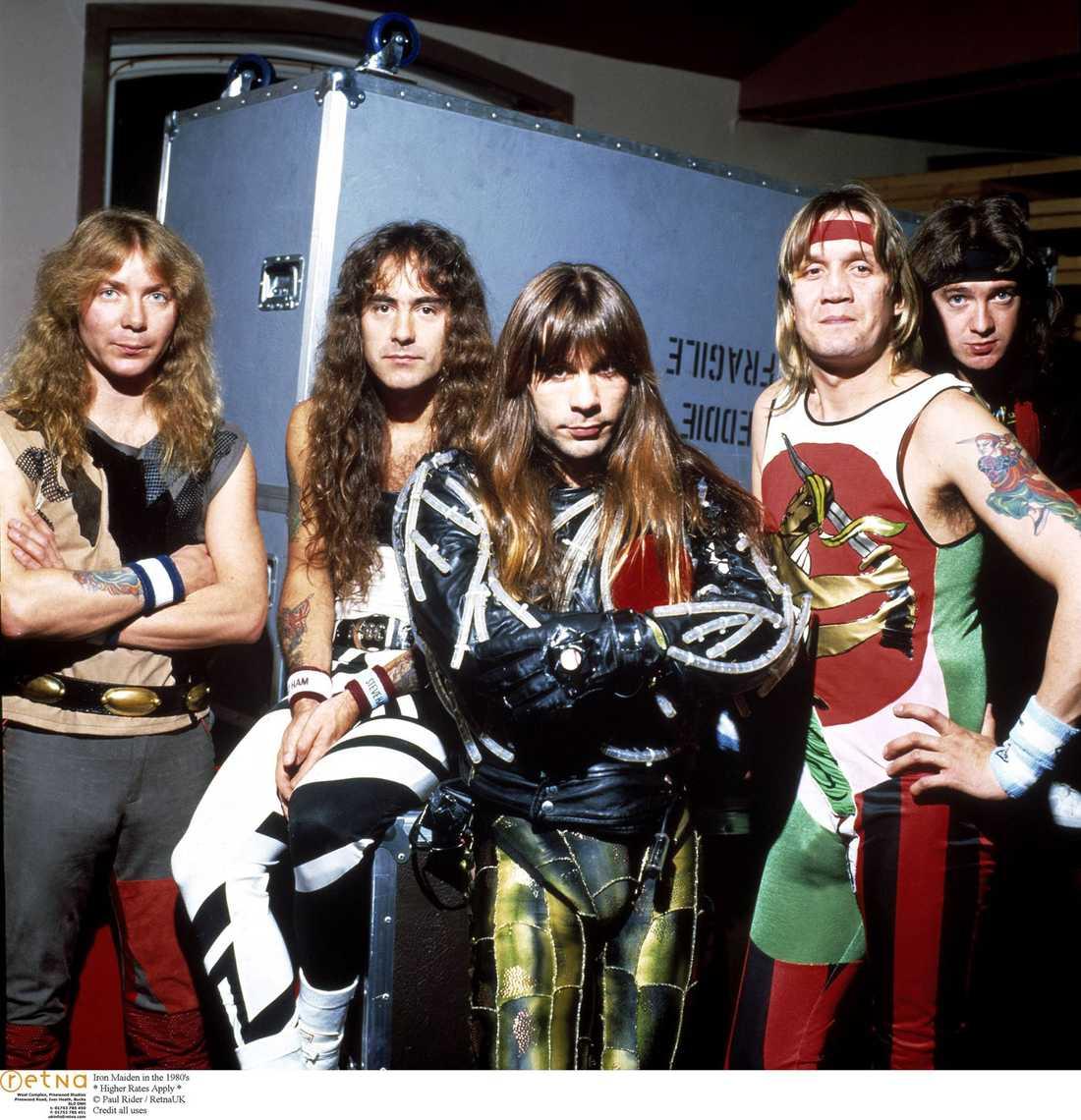 Iron Mariden 1980.