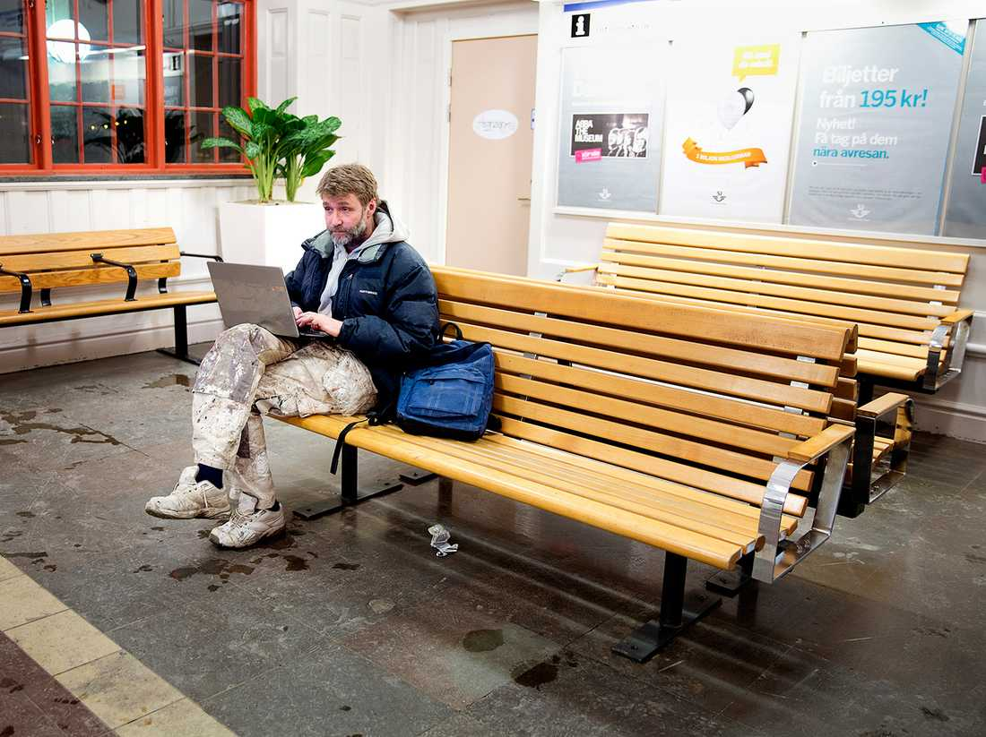 """""""Det är tråkigt att de lägger ner"""", säger Janne Säfström, 51."""