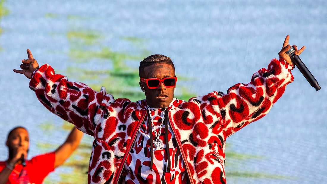 Lil' Uzi Vert på Lollapalooza.