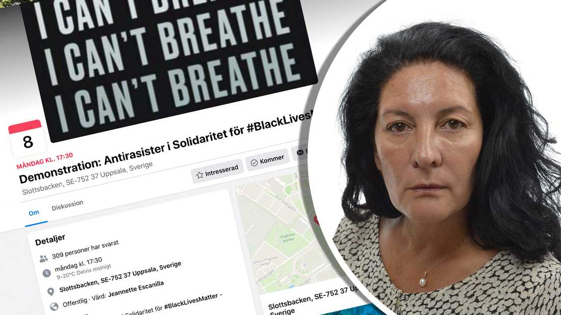 Jeannette Escanilla, tidigare riksdagspolitiker och aktiv i Vänsterpartiet i Uppsala, ligger bakom ansökan.