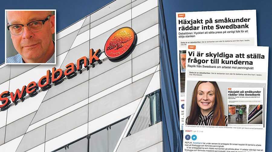 """Swedbanks dagar med """"business as usual"""" torde och borde vara hårt räknade, skriver Torgny Jönsson."""