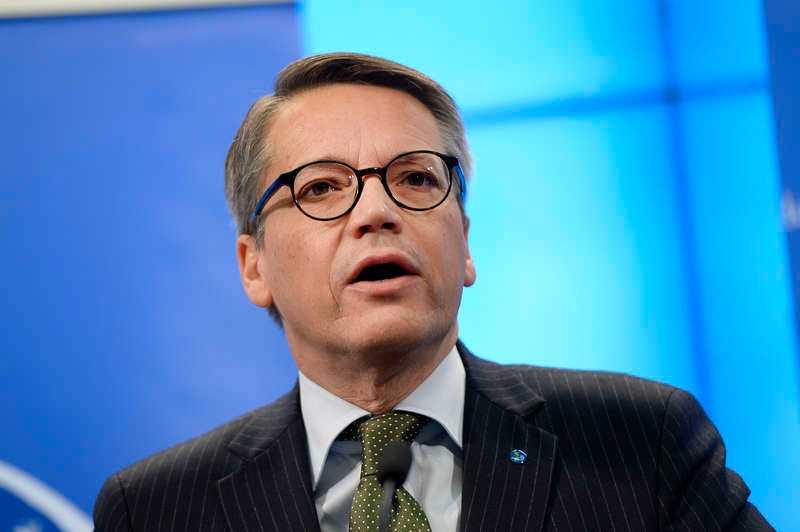 Göran Hägglund - avgående partiledare för KD.