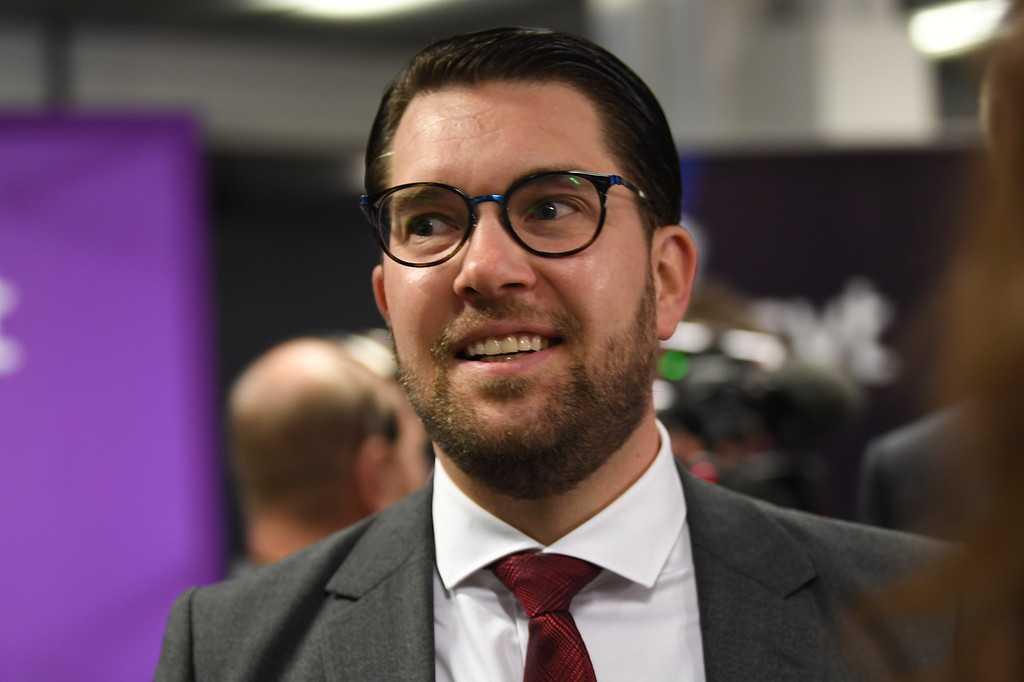Jimmie Åkesson, partiledare Sverigedemokraterna.