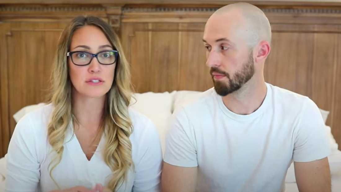 Youtubeparet Myka och James Stauffer .