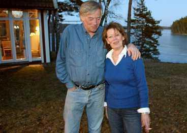 - De kommer att trivas. Det är en storslagen natur, säger grannarna Hans Levin och Gunnel Ennerfelt-Levin.