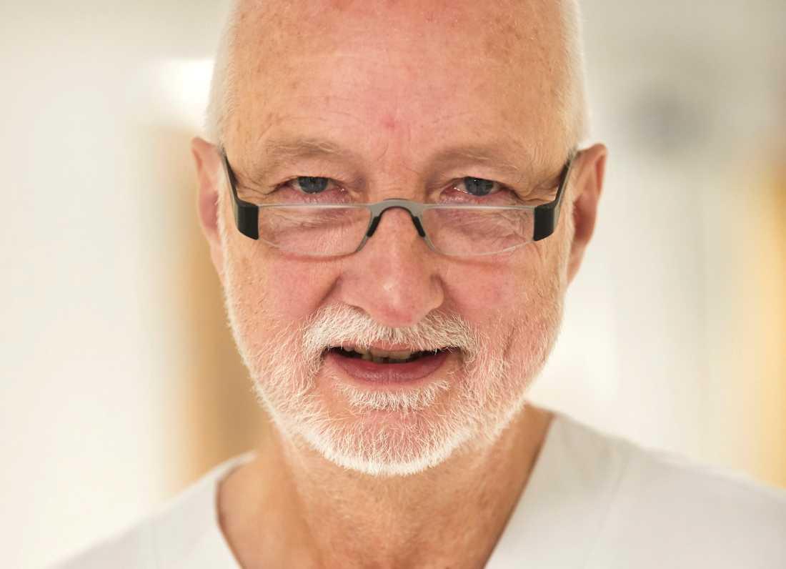 Överläkare Anders Frid arbetar på Skånes universitetssjukhus