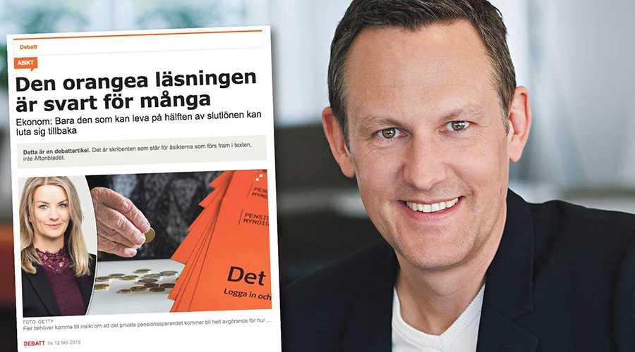 Kompensationsgrad är ett ganska missvisande sätt att illustrera pensioner, skriver Staffan Ström.