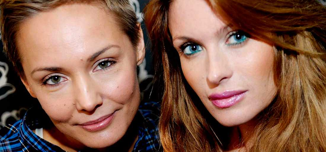 """Carina Berg och Carolina Gynning hörs i nya """"Gynning och Berg hittar sig själva""""."""