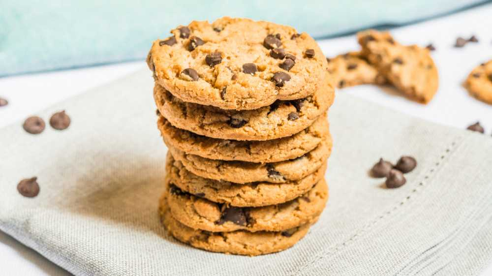 Choklad chips cookies
