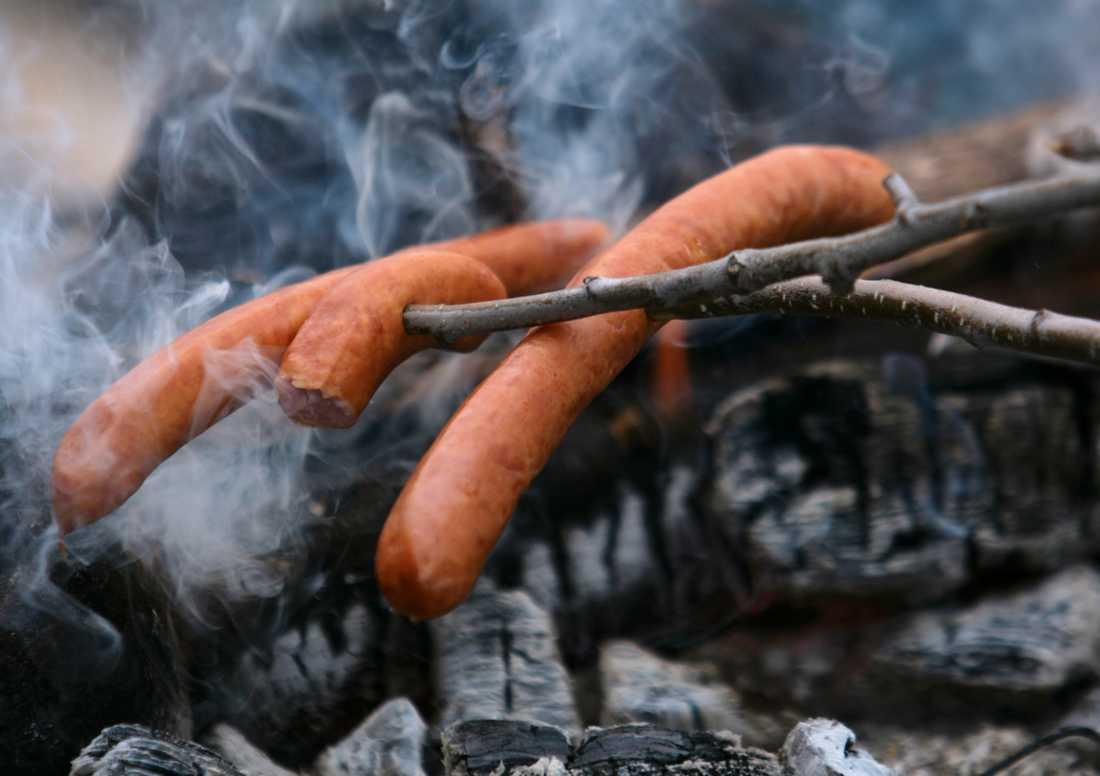 Sugen på grillat? När det är eldningsförbud gäller strikt regler för hur det görs. Arkivbild.