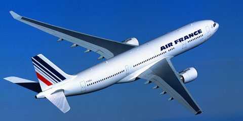 Flygplan av samma typ som det försvunna Air France-planet.