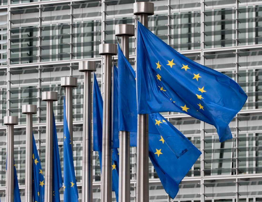 EU-kommissionen har nått ett avtal om experimentella läkemedel mot covid-19. Arkivbild.