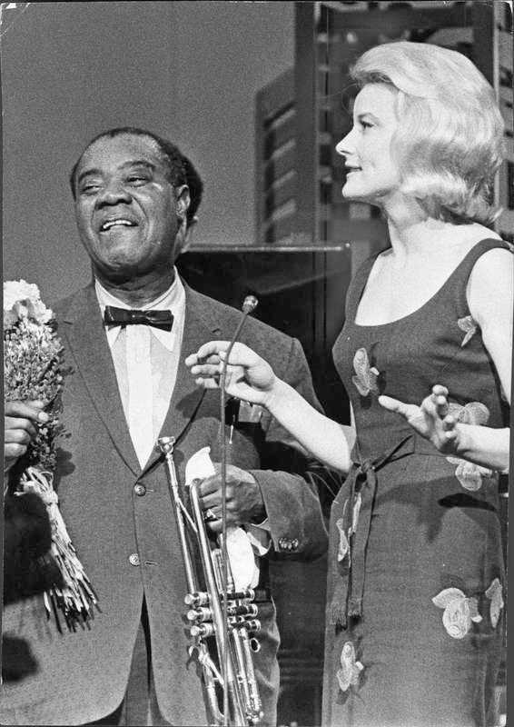 Med Louis Armstrong.