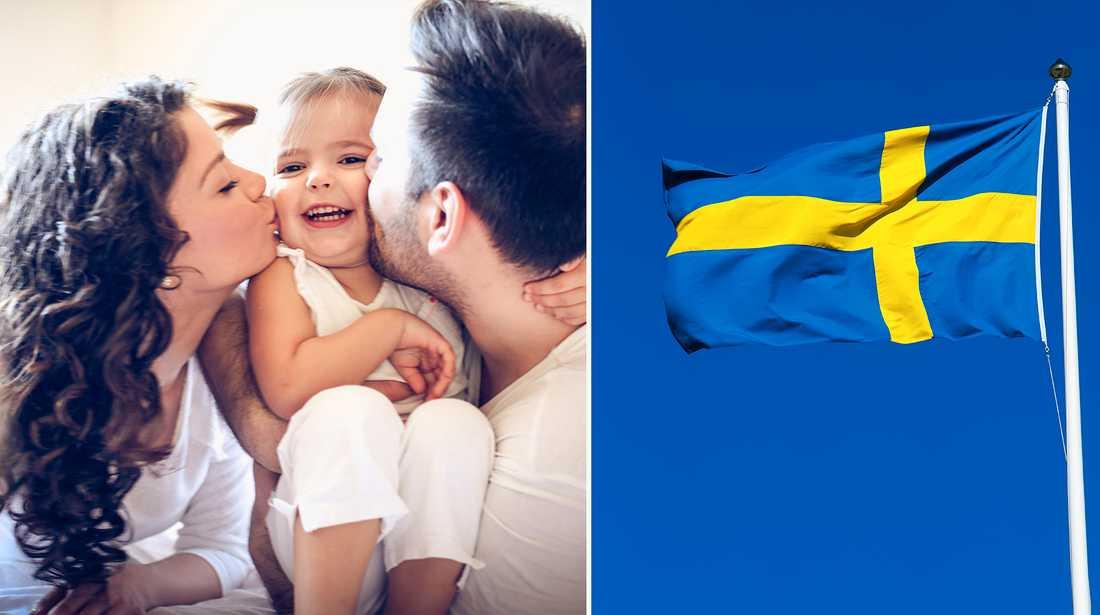 Sverige är ett av de bättre länderna att ha barn i.