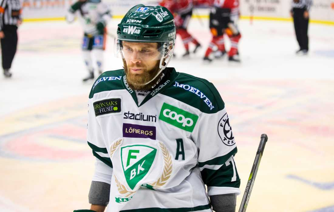 Anton Grundel i Färjestad ställer in säsongen.