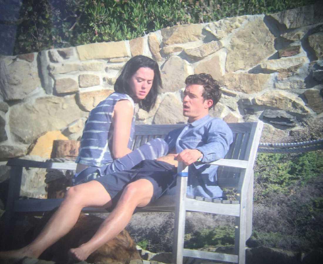 Katy Perry och Orlando Bloom vid ett tidigare tillfälle.
