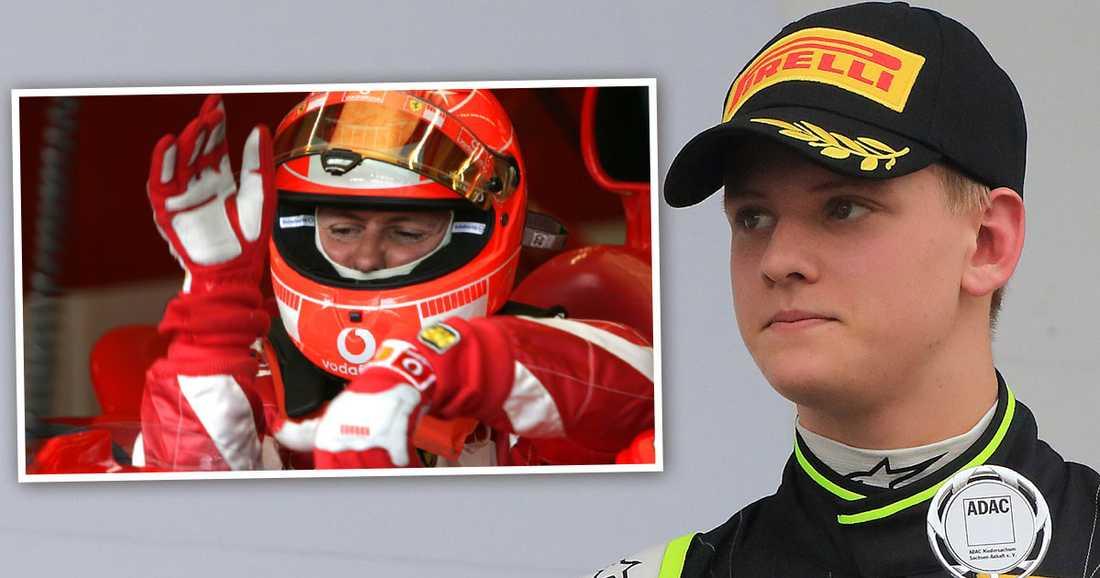 Mick Schumacher, 17, har startat sin satsning mot F1 – en väg där han ska skaffa sig så mycket körerfarenhet som möjligt för att vara en färdig förare när det väl är dags.