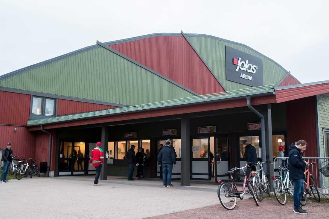 Moras hemmaarena Smidjegrav arena, tidigare Jalas arena.