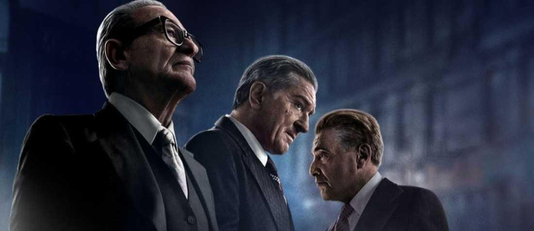"""Joe Pesci, Robert De Niro och Al Pacino i """"The Irishman""""."""