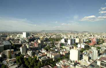 Småstaden Mexico City, 19 milj.