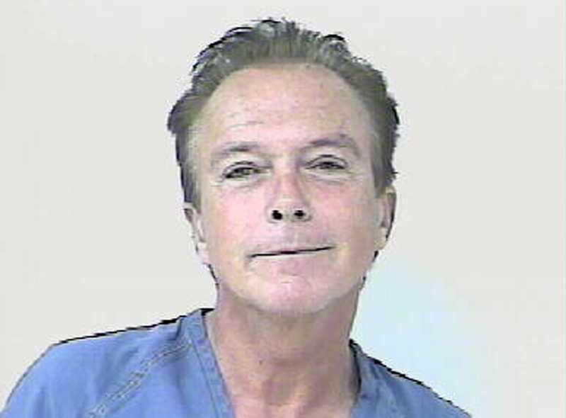 Skådespelaren David Cassidy greps för rattfylla den 3 november 2010 i Florida.