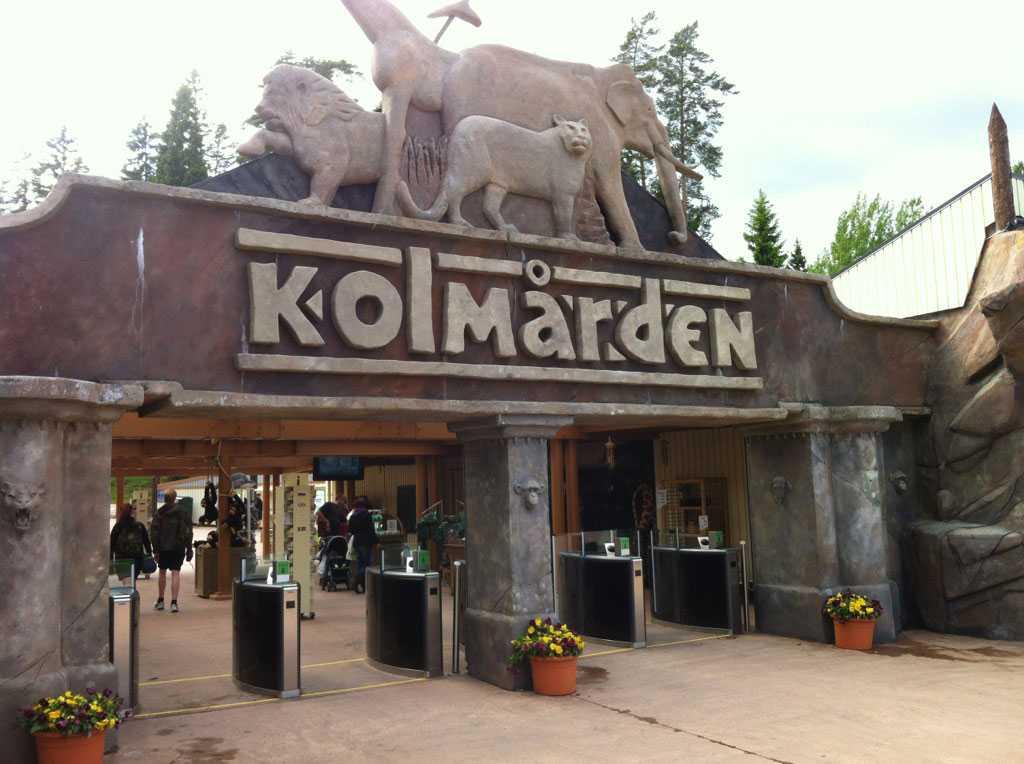 Kolmårdens djurpark.